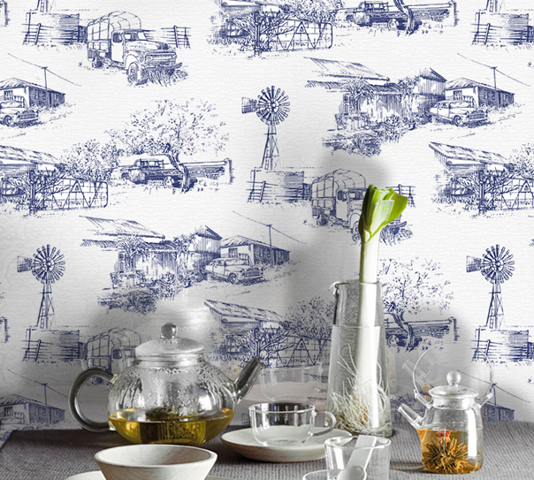ARTICLE: Toile de Joy | You Either Love It Or Hate It | Image Source:  The Design Tabloid  | CLICK TO READ... http://carlaaston.com/designed/toile-de-jouy-love-or-hate-design-pattern