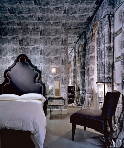 ARTICLE: Toile de Joy | You Either Love It Or Hate It | Image Source:  Block Lighting  | CLICK TO READ... http://carlaaston.com/designed/toile-de-jouy-love-or-hate-design-pattern