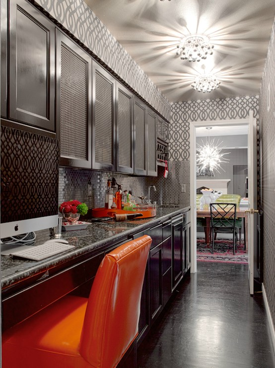 ARTICLE & GALLERY | Go Glossy, Feel Glamorous! - Get Inspired By These Shiny, Happy Interiors | Image Source: Unknown | CLICK TO ENJOY... http://carlaaston.com/designed/go-glossy-feel-glamorous (KWs: gloss, paint, wall, cabinet, door, finish)