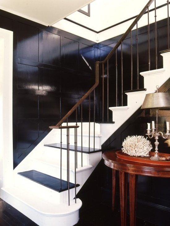 ARTICLE & GALLERY | Go Glossy, Feel Glamorous! - Get Inspired By These Shiny, Happy Interiors | Image Source:  A Thoughtful Eye  | CLICK TO ENJOY... http://carlaaston.com/designed/go-glossy-feel-glamorous (KWs: gloss, paint, wall, cabinet, door, finish)