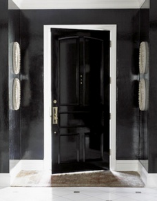 ARTICLE & GALLERY | Go Glossy, Feel Glamorous! - Get Inspired By These Shiny, Happy Interiors | Image Source:  Female Ways  | CLICK TO ENJOY... http://carlaaston.com/designed/go-glossy-feel-glamorous (KWs: gloss, paint, wall, cabinet, door, finish)