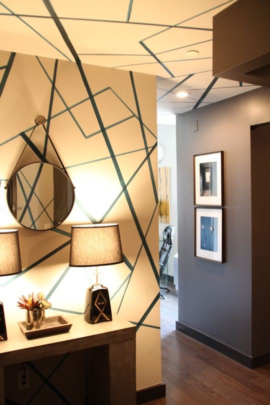 ARTICLE + GALLERY | Could You Handle These CRAZY Walls?! | Image Source:  Favorite  | CLICK TO ENJOY... http://carlaaston.com/designed/crazy-wall-inspiration | (KWs: wall, paint, wallpaper, Kelly Wearstler, art, color)