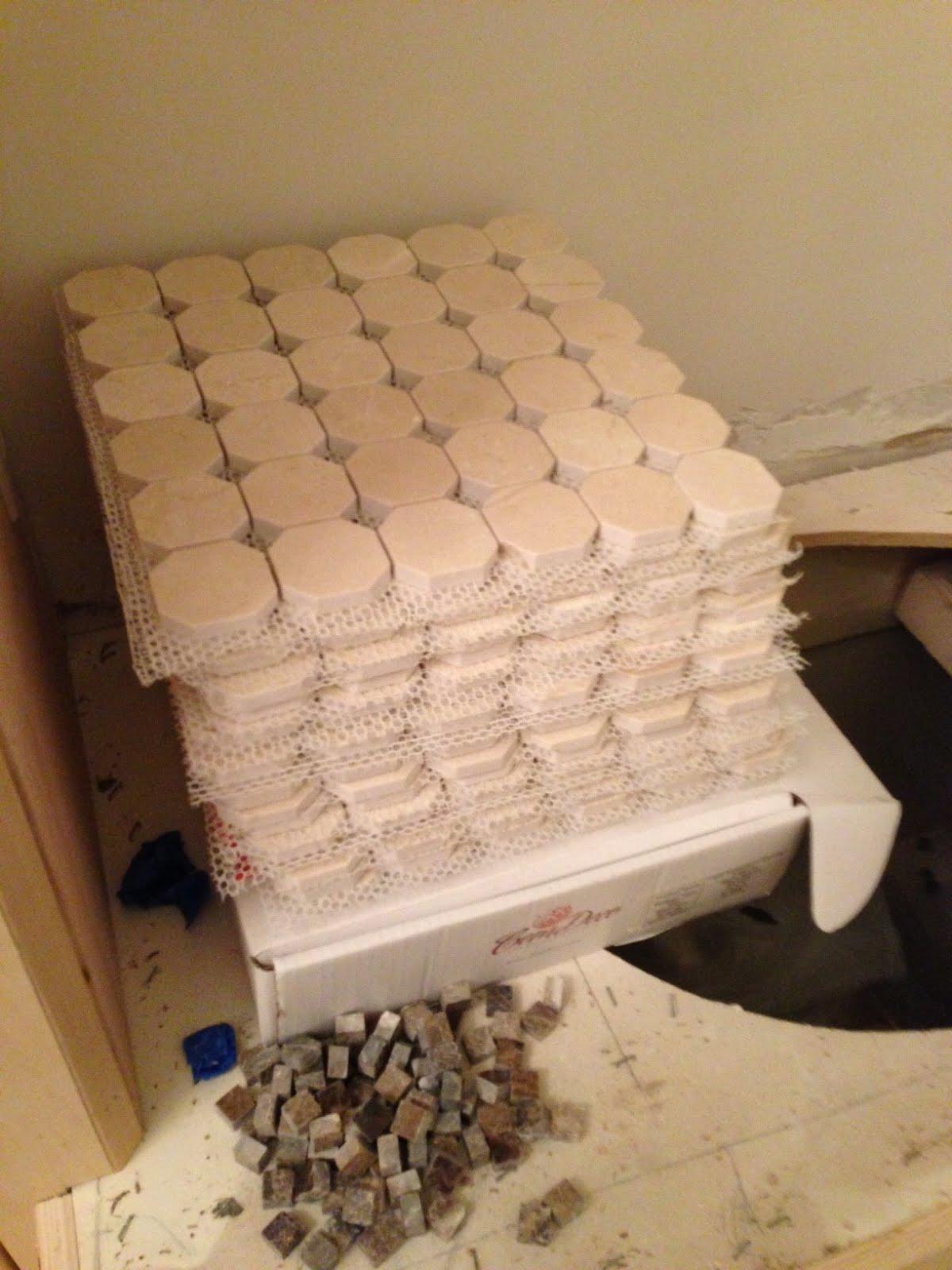 Article ➤ http://CarlaAston.com/craving-mosaics (DESPERATELY) CRAVING MOSAICS | (KWs: tile, bathroom, texture, emperador, wallpaper)