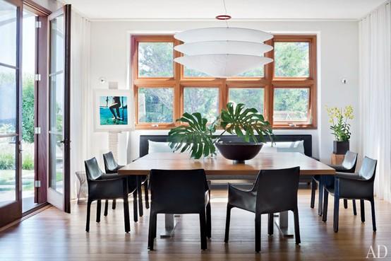 Article + Gallery ➤ http://CARLAASTON.com/designed/lighting-makes-artistic-statement When Lighting Makes A Design's Artistic Statement - Image Source: Architectural Digest (KWs: light art, chandelier )