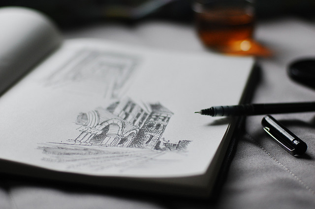 Have Hand-Drawn #Design Sketches Become A Lost Art? 12 Artists Weigh-In ➤http://carlaaston.com/designed/lost-art-hand-drawn-design-sketch