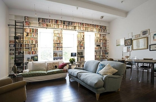 Restful Repositories: 10 Charming Home Libraries