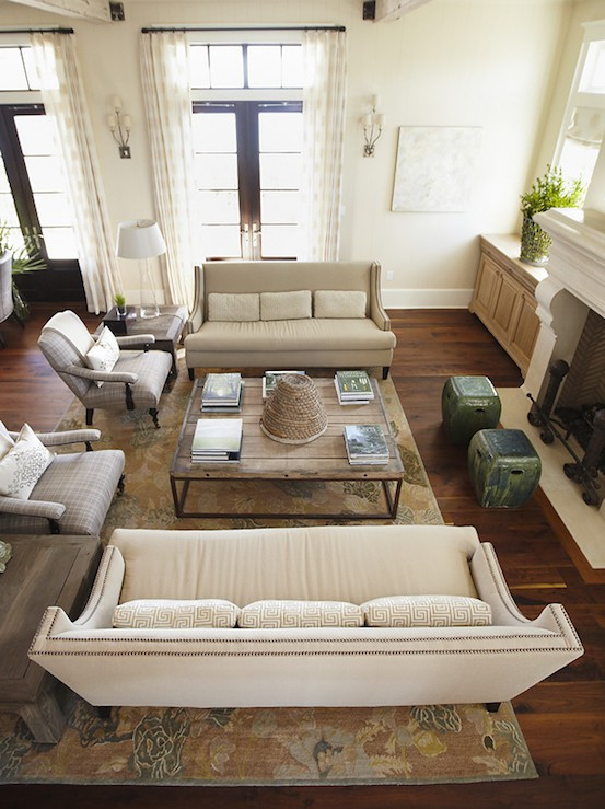 Living Room Arrangements With Sofa And Loveseat