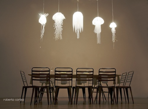 Things You Must See: Jellyfish Lamps By Roxy Russell