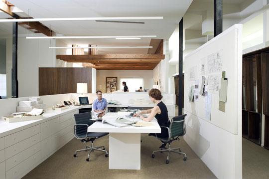 fabulous office interior design   Peek Inside The Offices Of Some of Interior Design's Most ...