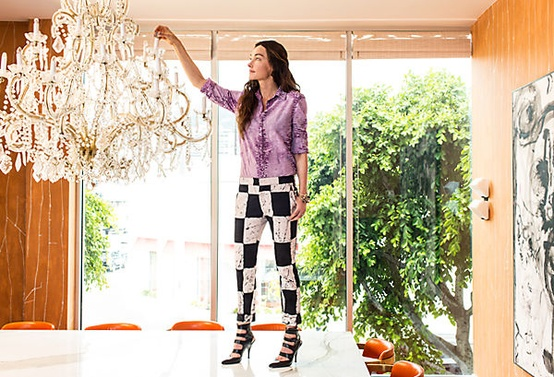 Peek Inside The Offices Of Interior Design's Most Famous Designers!➤ http://CARLAASTON.com/designed/interior-design-famous-designer-office