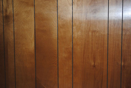 T Paint The Wood Paneling