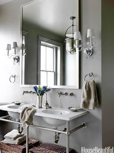 Designer:  Barry Dixon , Image via:  House Beautiful