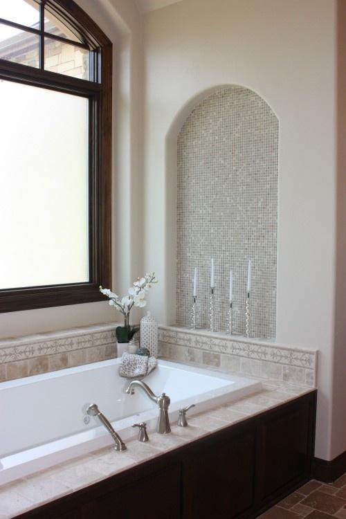 Regain Your Bathroom Privacy & Natural Light w/This Window Treatment➤http://CARLAASTON.com/designed/bathroom-privacy-translucent-window