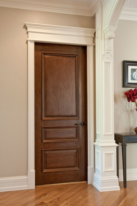 Wood Doors Must Have Matching Wood Frames Mouldings Fact Or Fiction Designed
