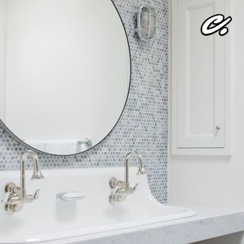 DESIGNED's Definitive Guide To Home Backsplash Design, Designer:  Murphy Moon Design