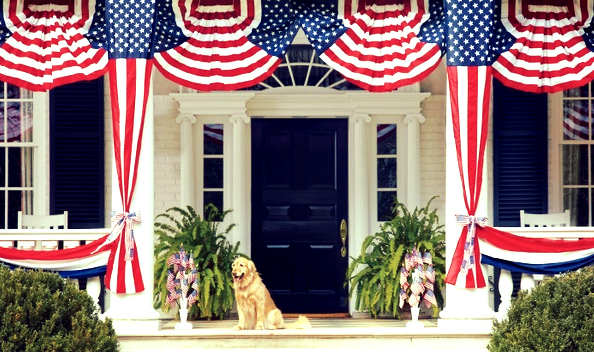 GALLERY: 10 Star-Spangled Exteriors Worth Saluting | (4th of July, Independence Day, American flag)