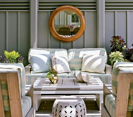 Outdoor Living Shopping Board - w/links to shop!    Via Coastal Living Photographer: David Tsay