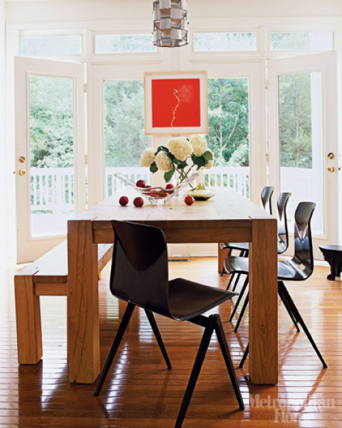 Ease Into This Casual, Natural Big Sur Dining Room — DESIGNED