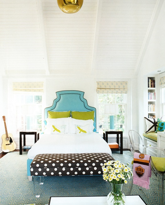 12 Cool Teen Girl Bedrooms - Image Source:  House Beautiful