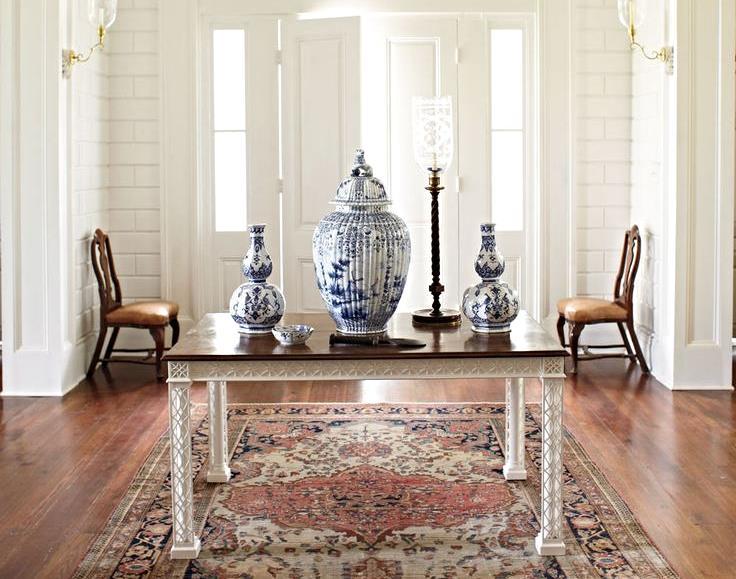Interior Designer: Furlow Gatewood, Image via:  Veranda
