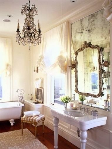 Mirror on top of mirror?  Oh, yes. Here are 12 beautiful examples.