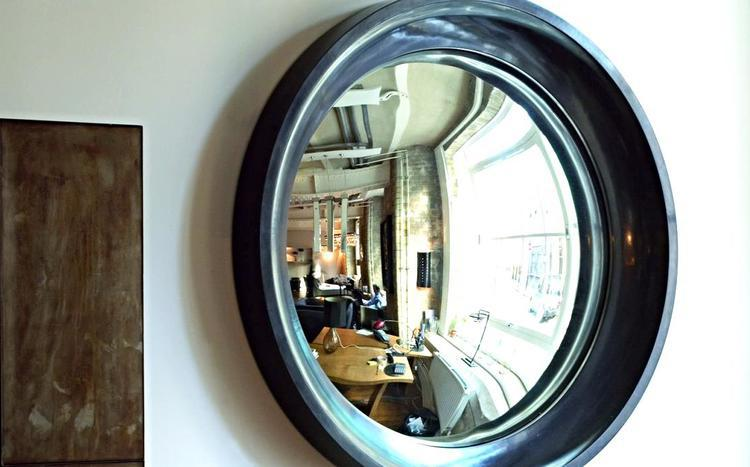 15 interiors turned abstract wall art by a convex mirror