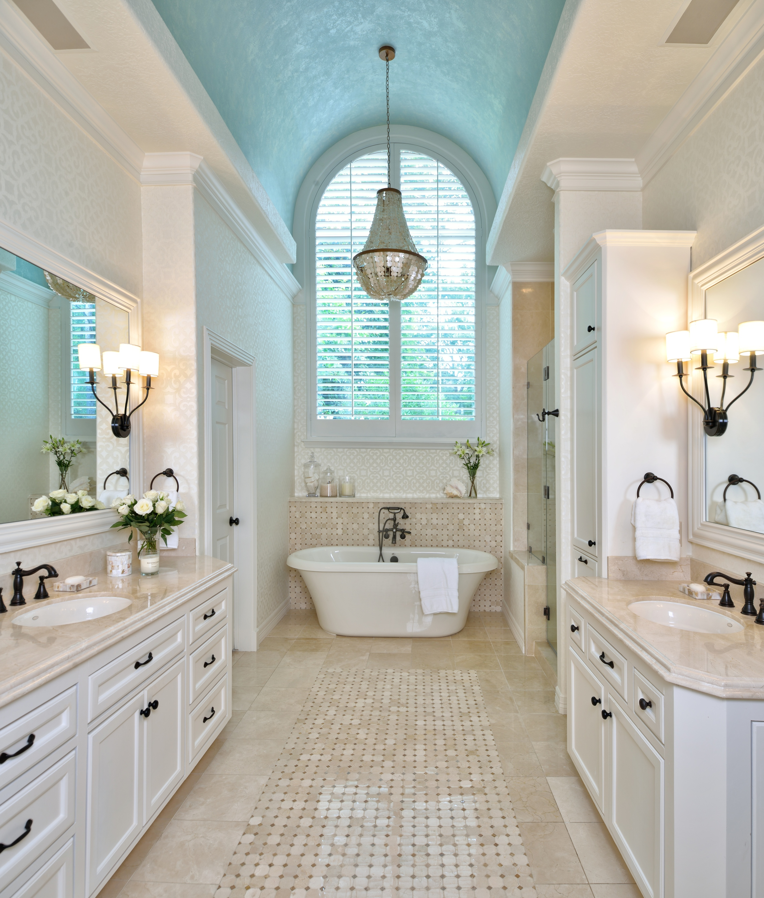 Partial Bathroom Remodel Gets A Dramatic Facelift, Designer: Carla Aston