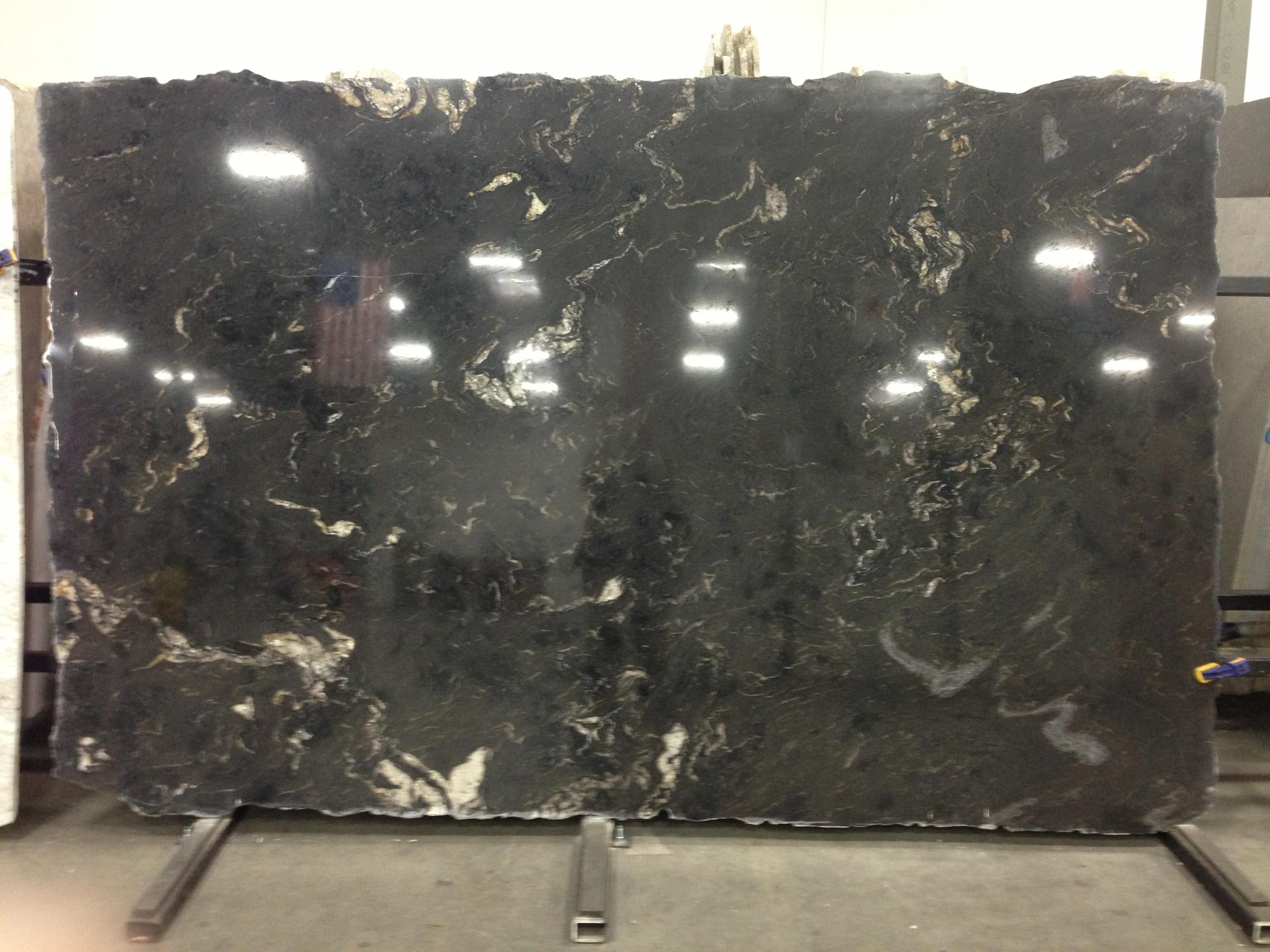 Titanium granite for kitchen countertops