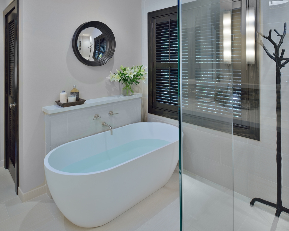 A Traditional Bathroom Is Made Modern