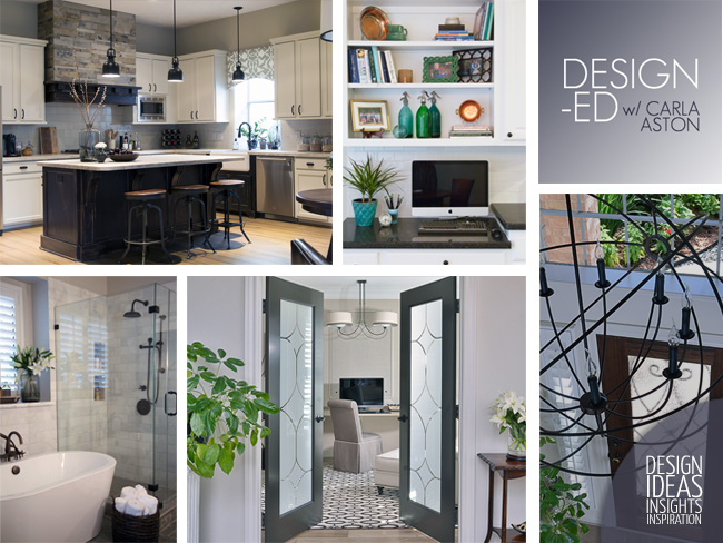 Interior design posts and projects by DESIGNED w/ Carla Aston!