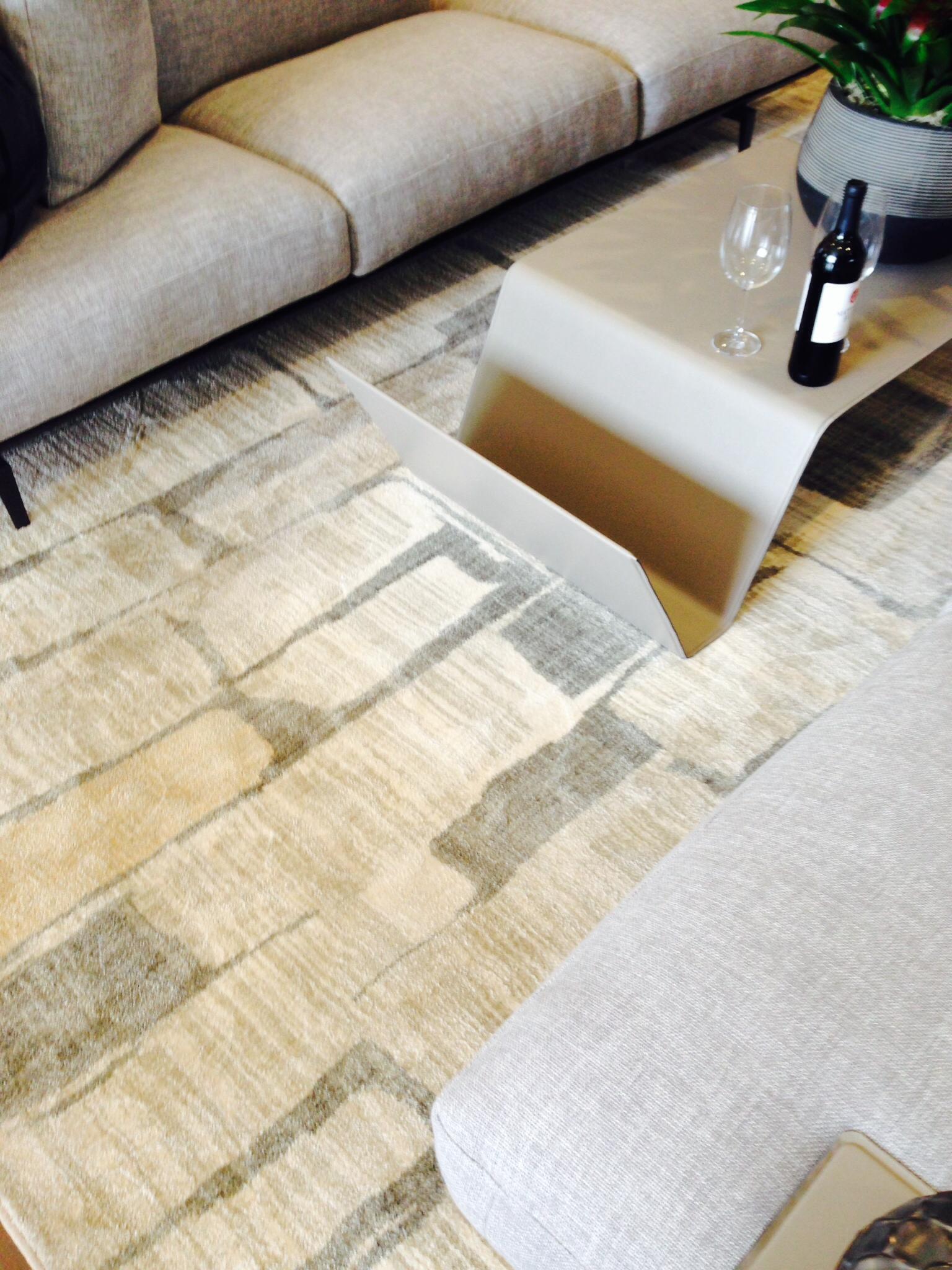 Best of #KBIS2015: Karastan's SmartStrand® Silk™ Forever Clean™ carpet (Mohawk Flooring) | Carla Aston reporting from Modenus' #BlogTourVegas | Photographer: Chasen West