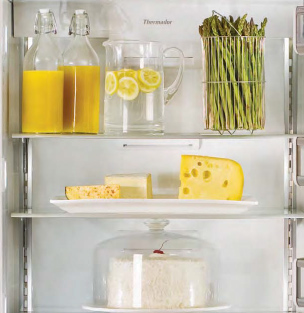 Best of #KBIS2015: Thermador's Freedom Collection / refrigerator; freezer; kitchen appliance | Carla Aston reporting from Modenus' #BlogTourVegas | Image via: Thermador.com