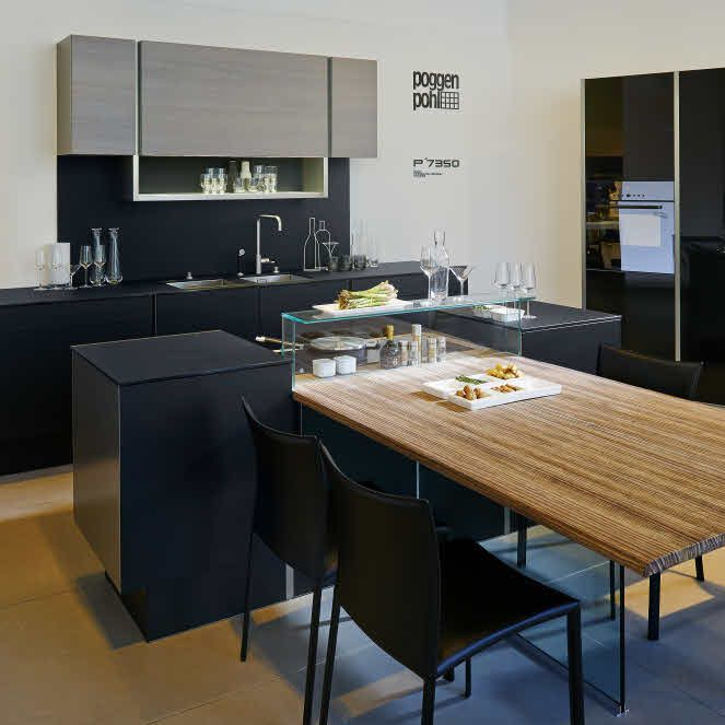 Best of #KBIS2015: Must-Have: The Detailed Perfection Of A Poggenpohl Kitchen / P'7350 Design by Porsche Design Studio | Carla Aston reporting from Modenus' #BlogTourVegas | Image via: Poggenpohl.com