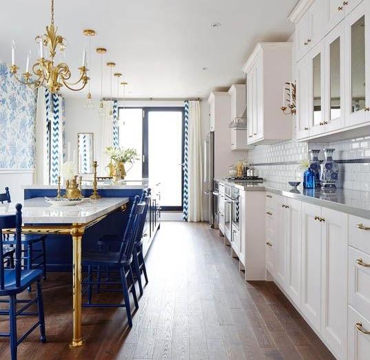 Pantone Color Classic Blue Kitchen Decor