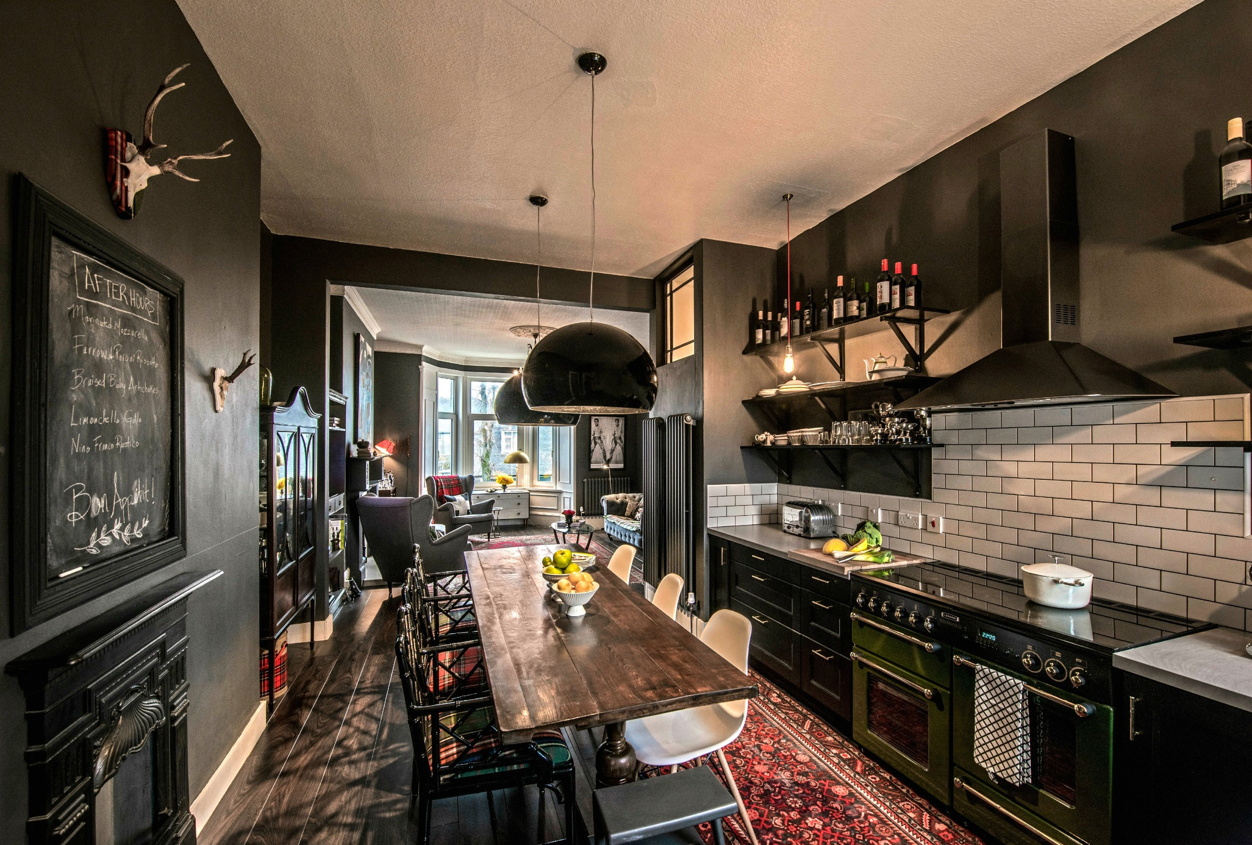 Revealed How A Dull 100 Year Old Apartment Was Remodeled W A Modern Edge Designed