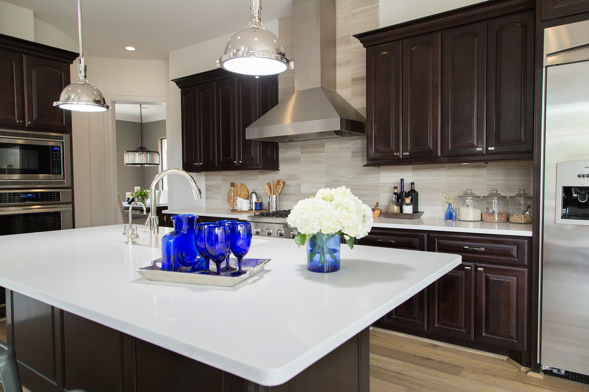 kitchen remodel; lighting; Island; cabinetry | Interior Designer: Carla Aston / Photographer: Tori Aston