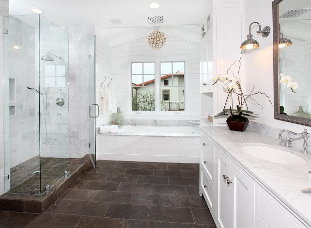 Which direction to run your tile floor |Builder:  Graystone Builders