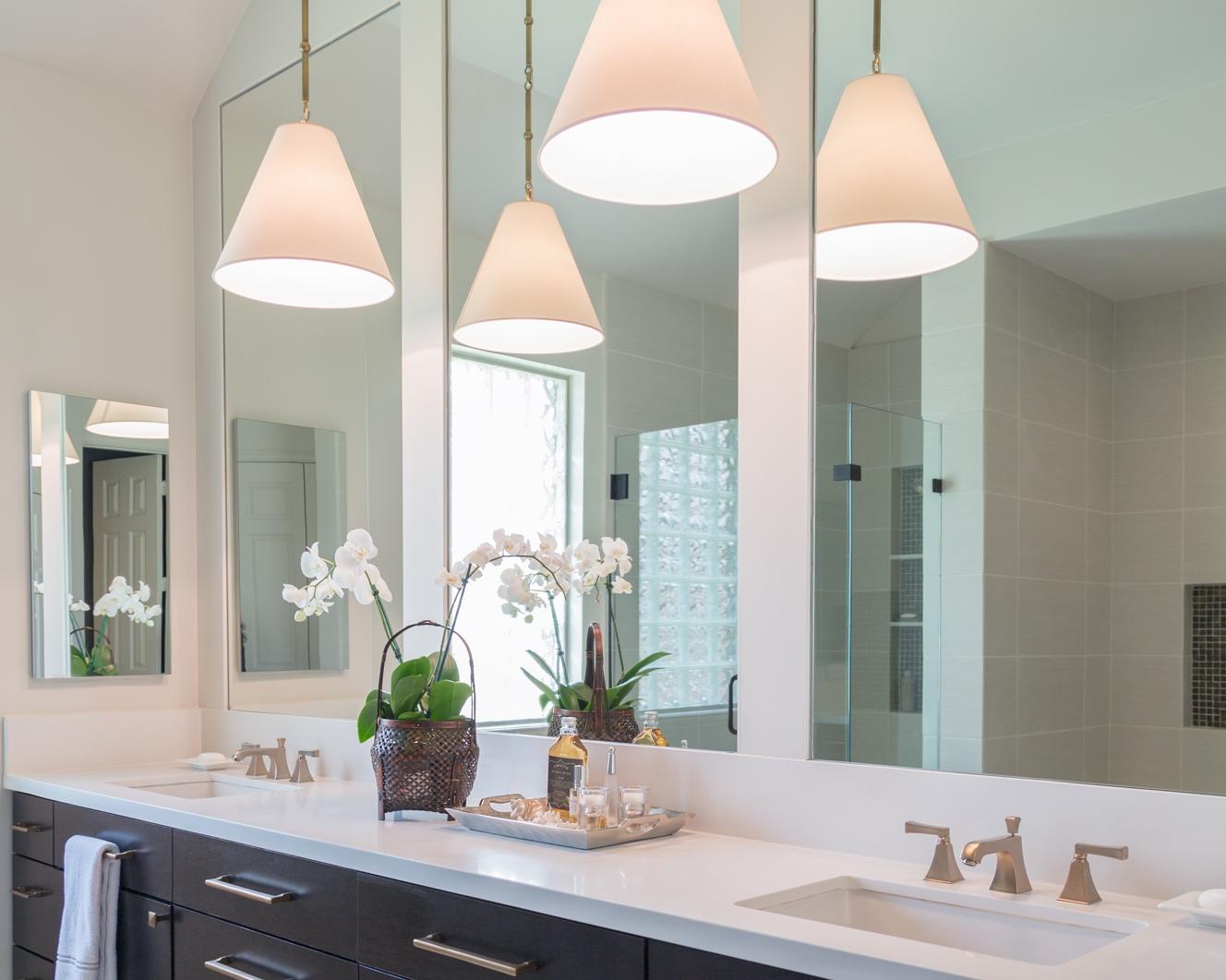 Bathroom designed by Carla Aston /Photo by Tori Aston