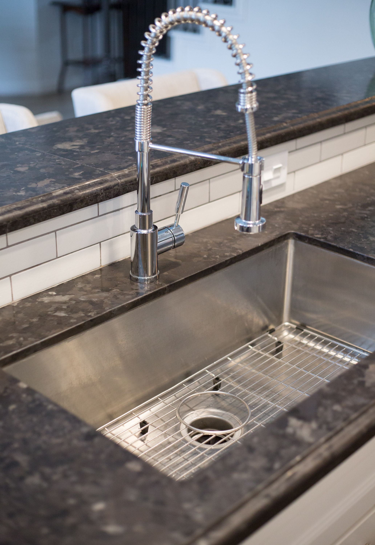 Blanco stainless sink and faucet | interior Designer: Carla Aston / Photographer: Tori Aston