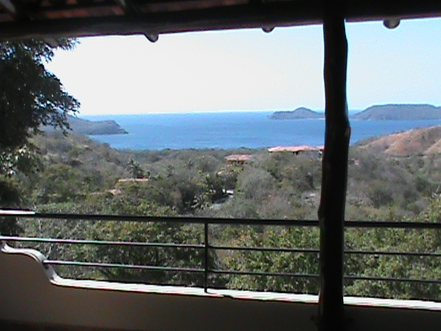 Costa Rica house's view