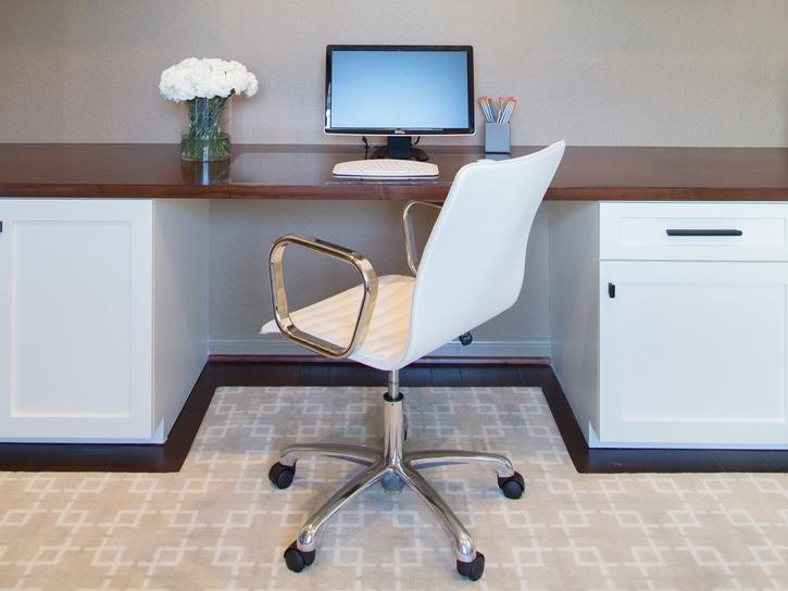 Home office | Interior Designer: Carla Aston