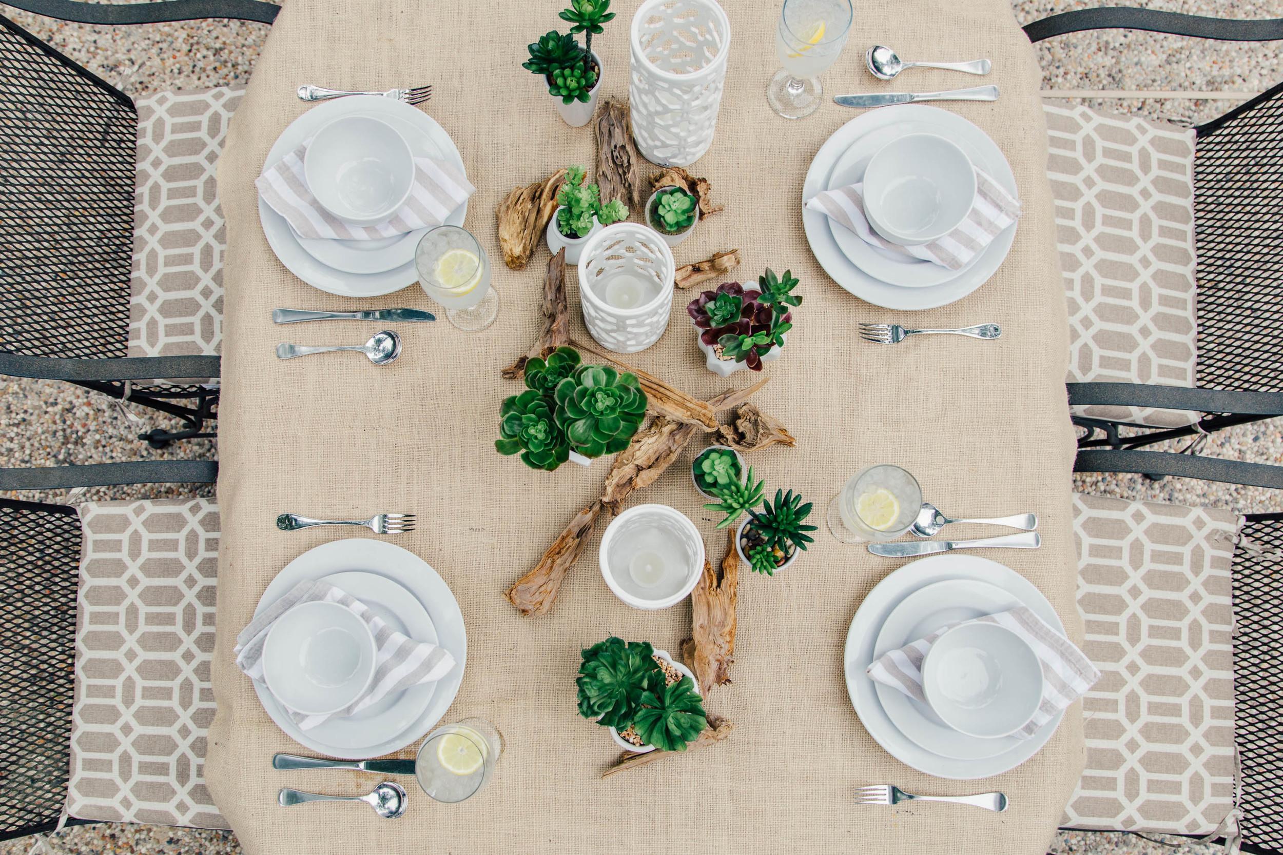 Tabletop   Interior Designer: Carla Aston / Photographer: Tori Aston