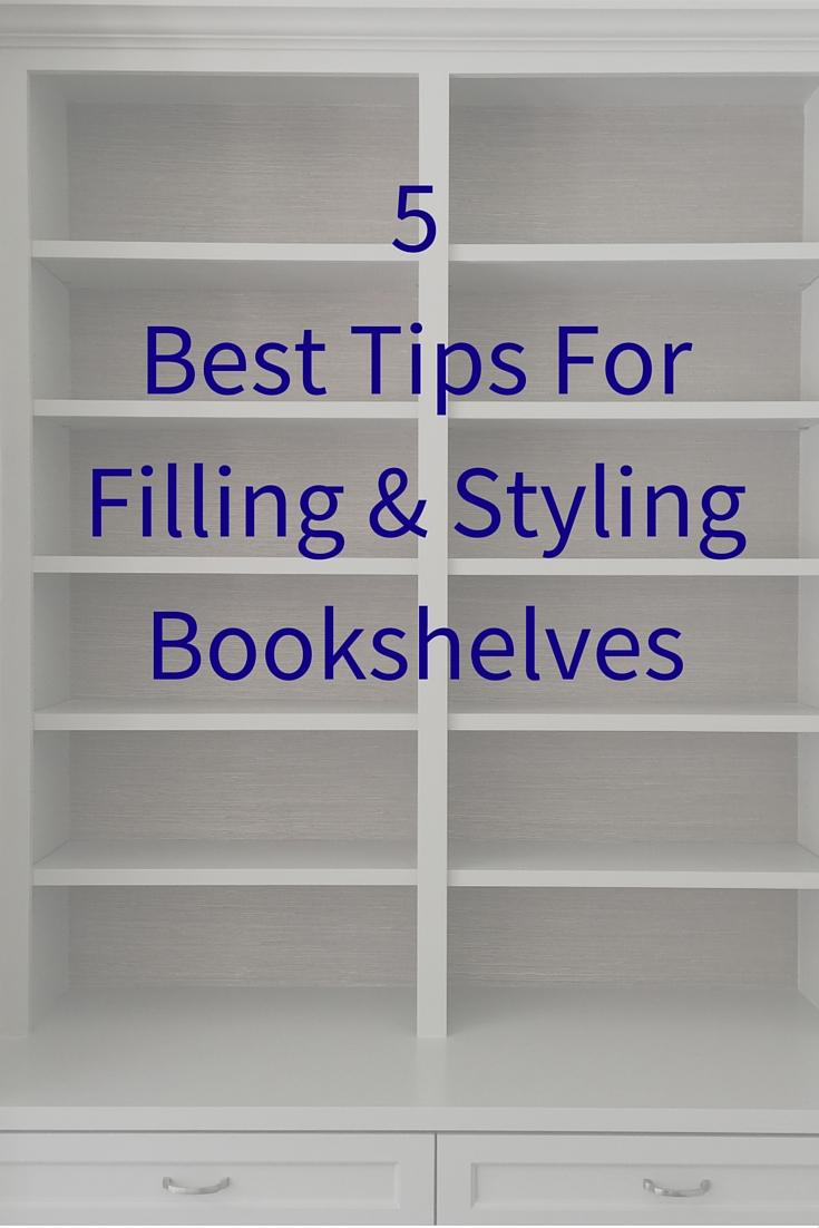 Bookshelf Styling Tips   Carla Aston