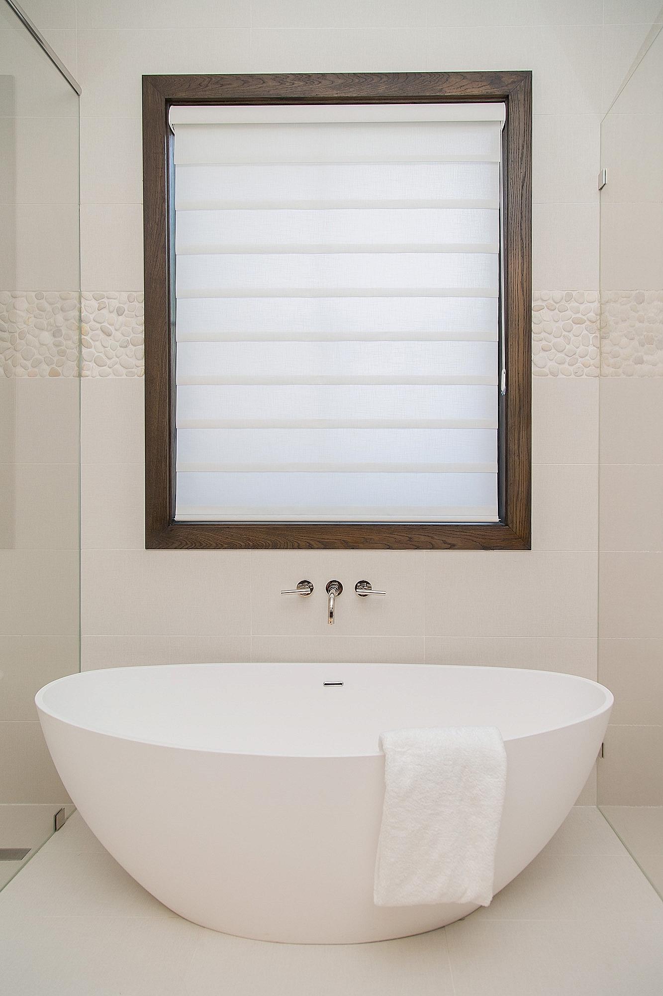 Translucent Roman Shade |  Carla Aston, Designer#windowtreatment #romanshade