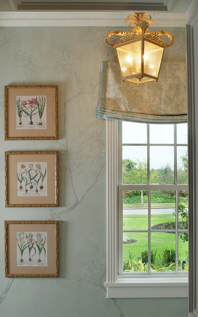 Relaxed Roman Shade |  Carla Aston, Designer #romanshade #windowtreatment