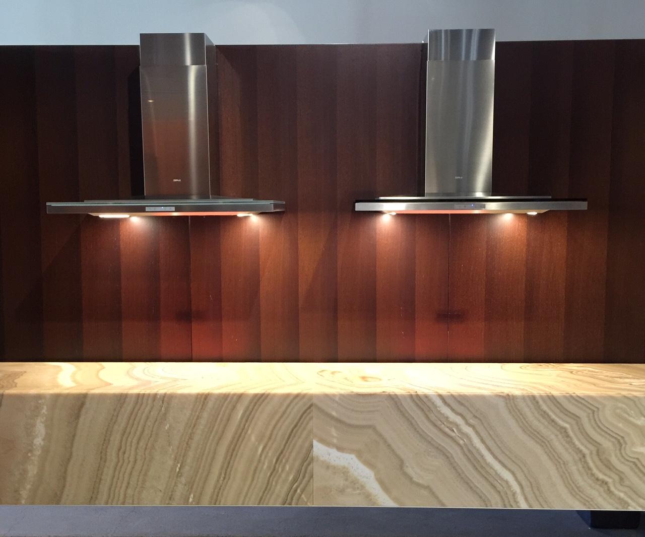 Zephyr Ventilation in the San Francisco showroom