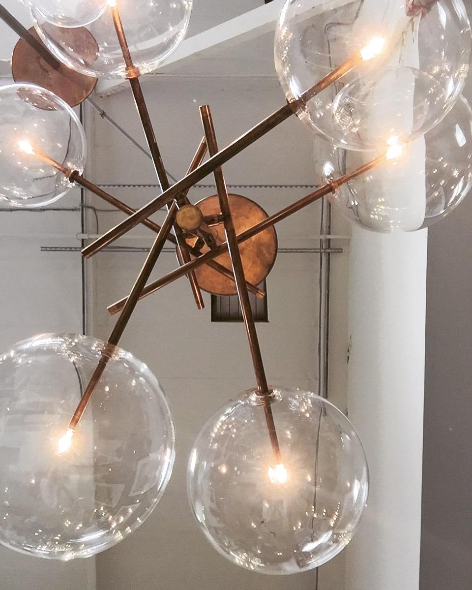 Contemporary Italian pendant lighting at Nido Living