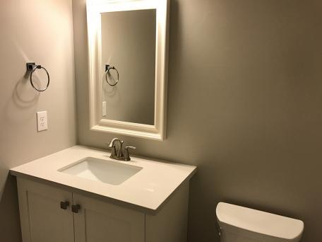 Backsplash Advice For Your Bathroom Would You Tile The Side Walls Too Designed