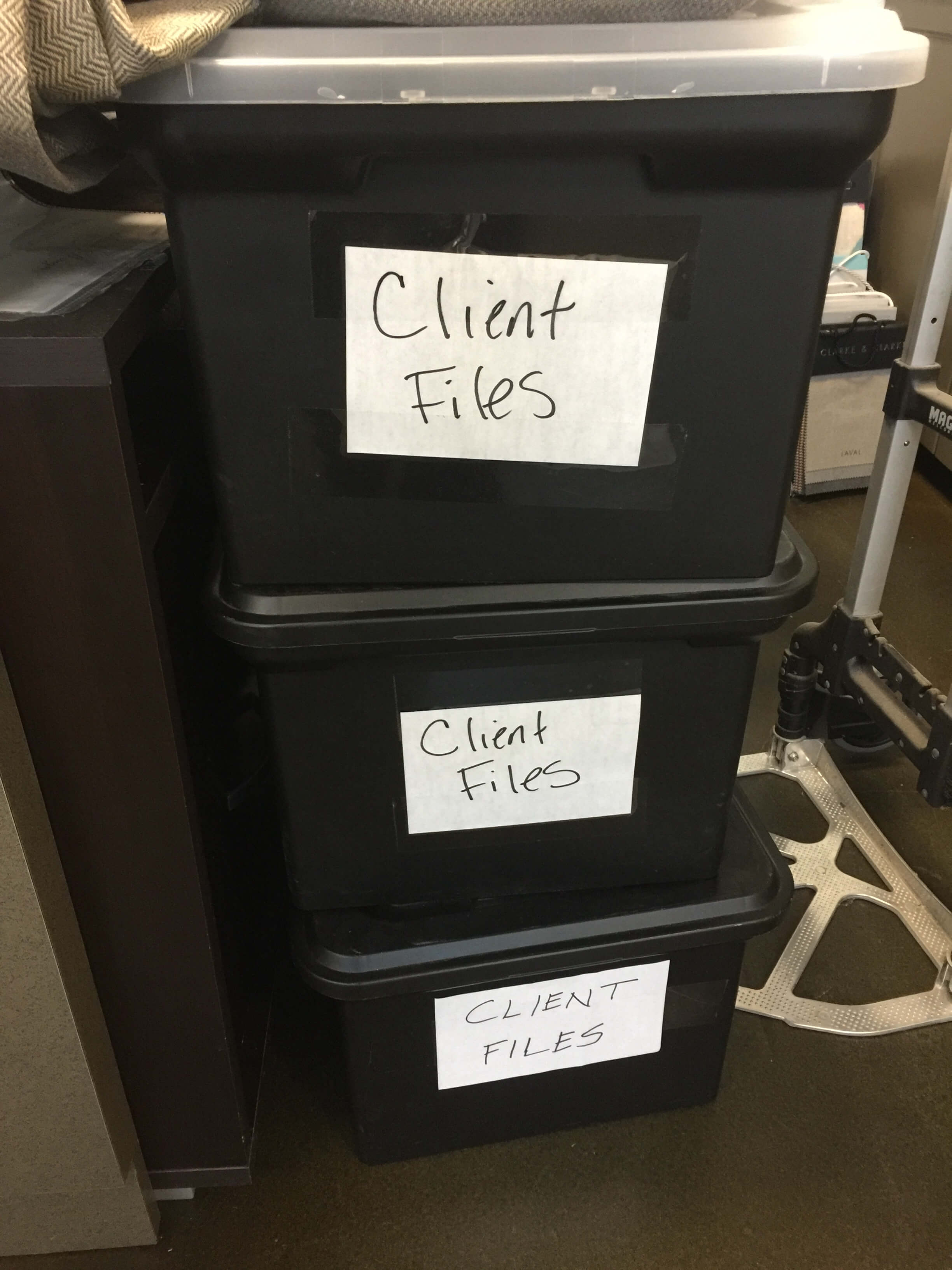 File boxes for move