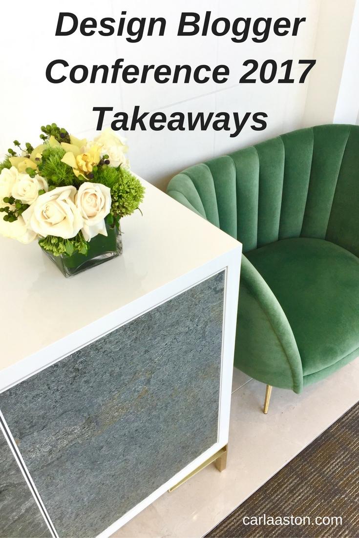 Design Blogger Conference 2017 Takeaways